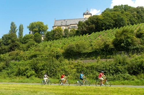Radeln am Schloss Mainberg
