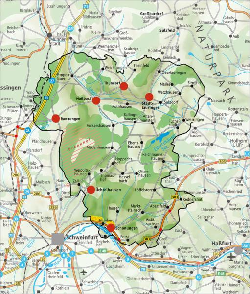 Unsere Region Schweinfurter OberLand