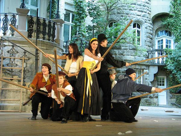Theater Schloss Maßbach Theaterszene