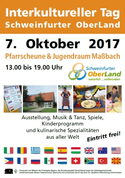 Plakat Interkultureller Tag 2017